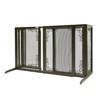 Deluxe Freestanding Mesh Pet Gate