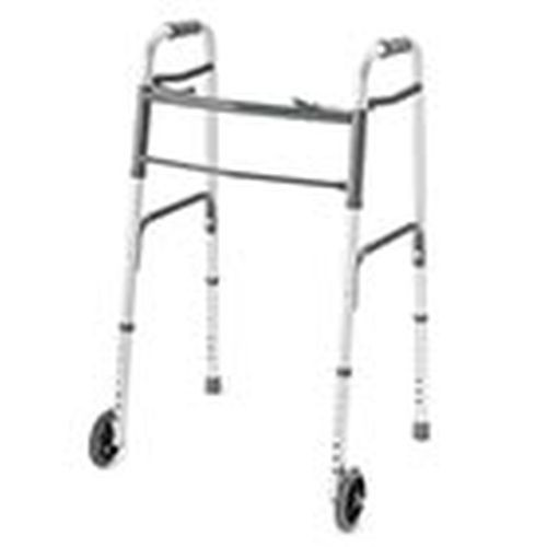 ProBasics Deluxe Two-Button Folding Walker