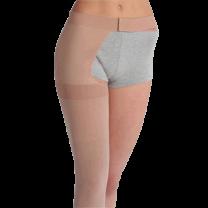Juzo Soft 2001 Thigh High Compression Stockings w/ Hip Attachment OPEN TOE 20-30 mmHg