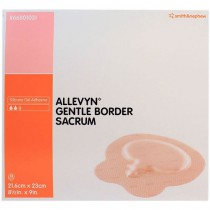 Smith and Nephew Allevyn 66801031 Gentle Border Sacrum