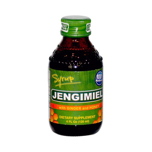 Jengimiel Ginger and Honey Syrup