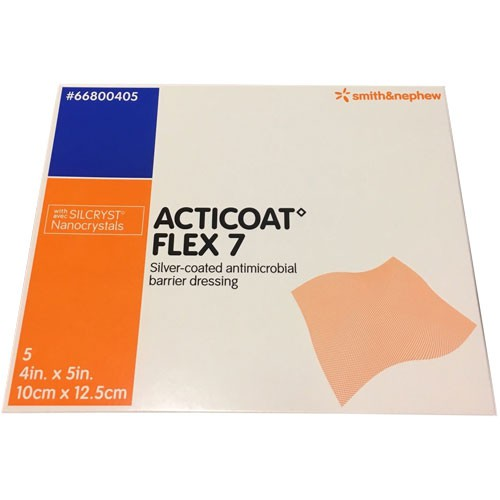 Smith and Nephew Acticoat 66800405 Flex 7