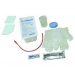 Urethral Catheterization Tray with Red Rubber Catheter 14 French