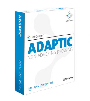 ADAPTIC Touch 3 x 3 Inch Non-Adhering Dressing