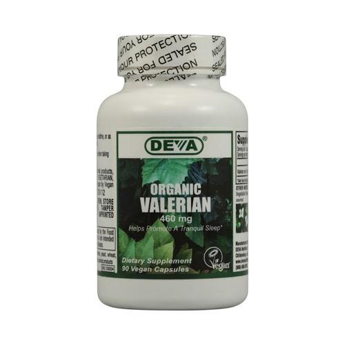 Deva Vegan Organic Valerian 460 mg