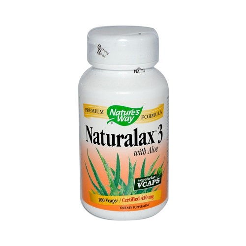 Natures Way Naturalax 3 with Aloe