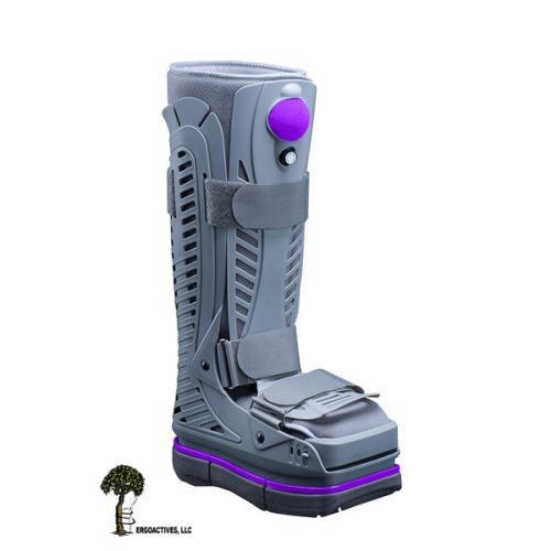 Shoebaum Air Cam Fracture Boot with Shock Absorber Sole