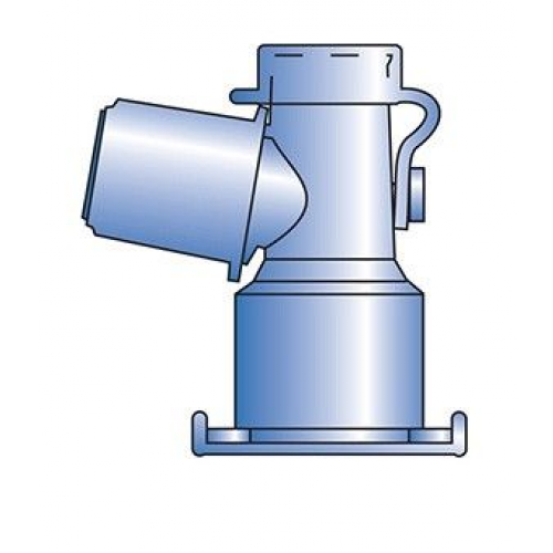 Swivel Adaptor Peep Keep Dual Axis Angled 15mm