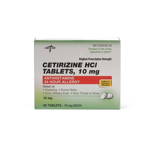 cetirizine allergy relief tablets db8