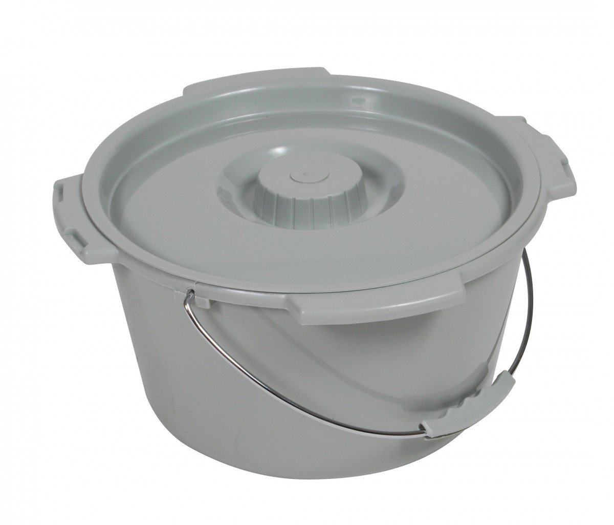Drive Commode Bucket W Metal Handle And Cover 11106