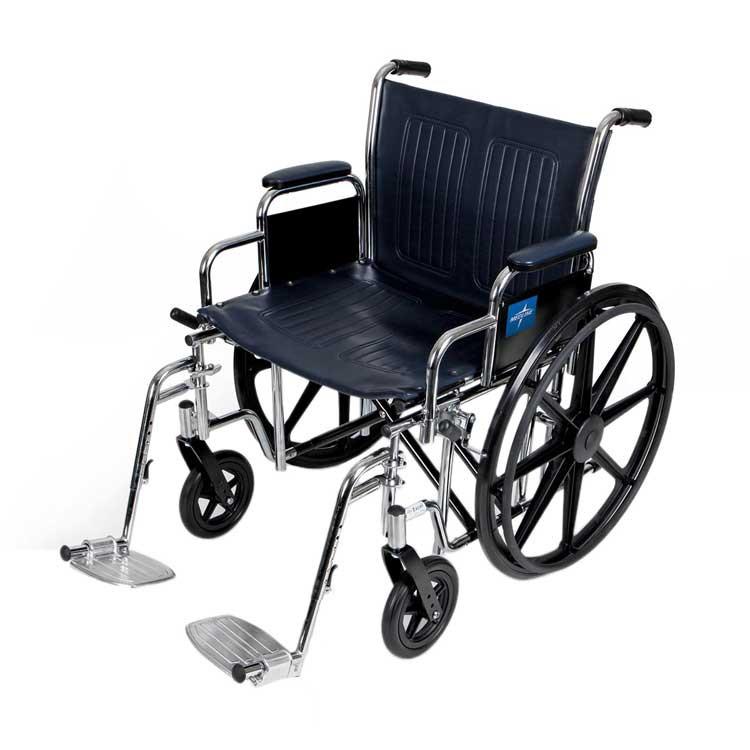 medline extra wide wheelchair e32