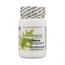 FoodScience of Vermont L Theanine 200 mg Dietary Supplement