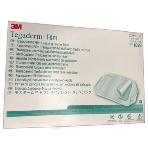 Tegaderm Film 1626 4 x 4-3/4 by 3M