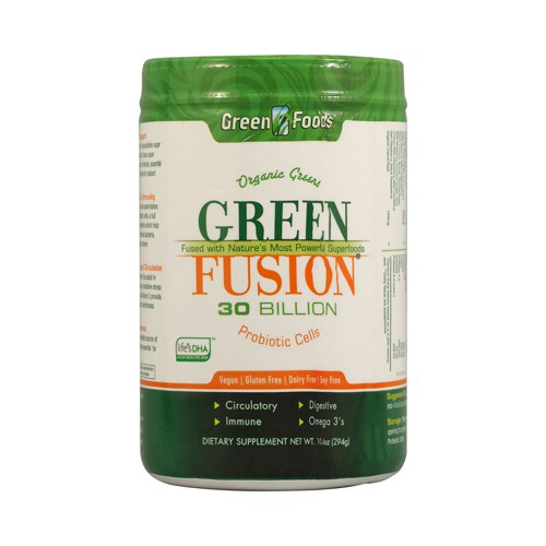 Green Foods Organic Green Fusion Dietary Supplement