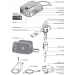 Pari Trek S Compact Nebulizer Components and Schematic