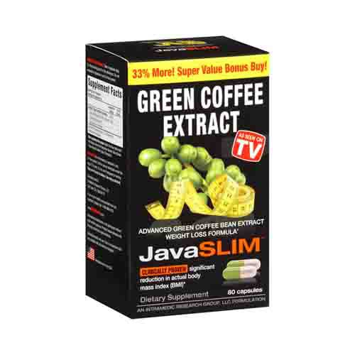Javaslim Green Coffee Diet Aid