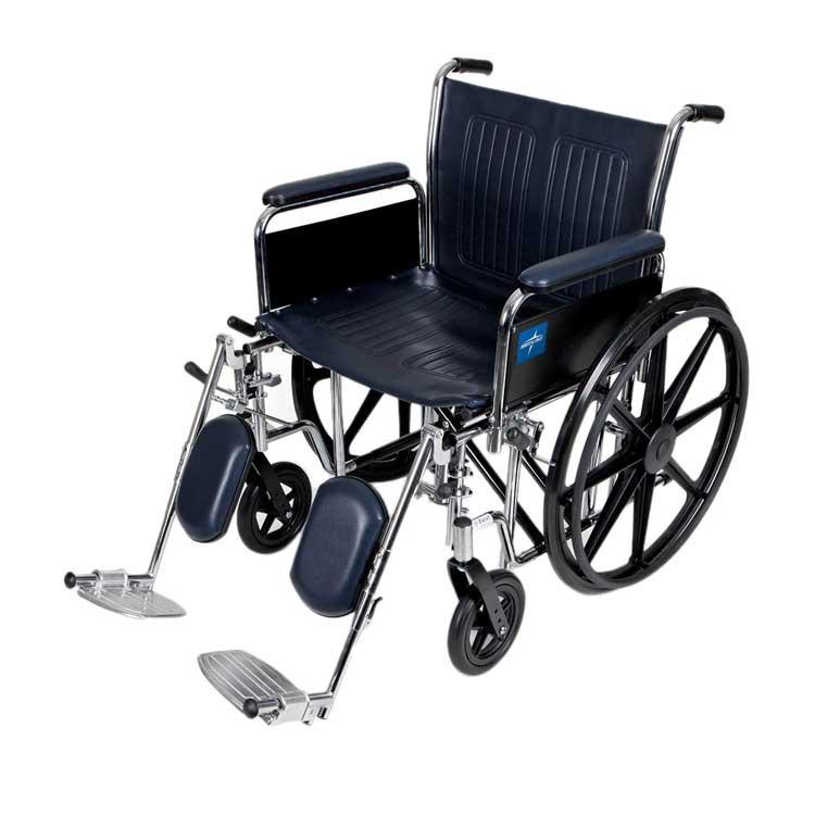 medline extra wide wheelchair 106