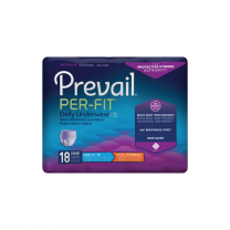 Prevail Per-Fit Daily Underwear for Women - Extra Absorbency - M, L, XL