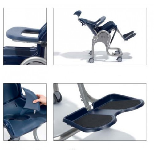 Boris Commode Shower Chair Accessories