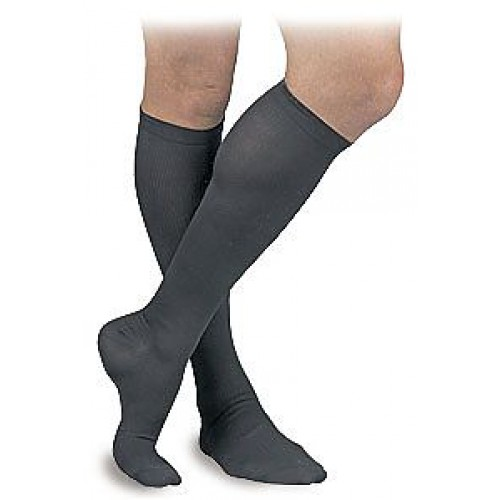Activa Men's Ribbed Dress Socks 15-20 mmHg