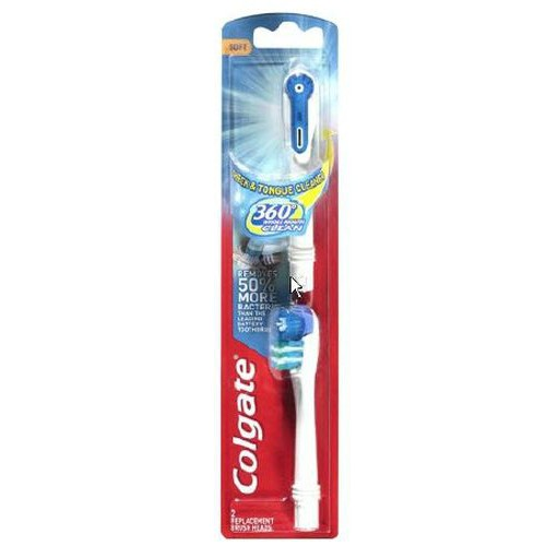 Colgate 360 Replacement Toothbrush Heads