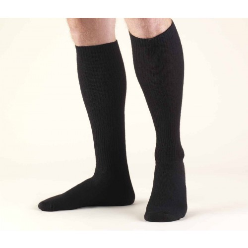 TRUFORM TruSoft Diabetic/Athletic Knee Length Socks 8-15 mmHg
