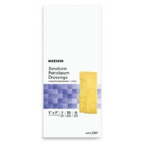 Xeroform Petrolatum Gauze 5 x 9 Inch - Sterile