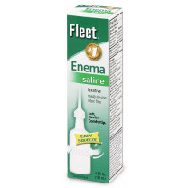 Fleet Enema Sodium Phosphate Saline Laxative for Adults