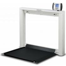 Detecto 7550 Fold Up Wall Mount Wheelchair Scale