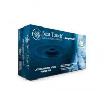 Best Touch Latex Exam Gloves Powder Free - NonSterile
