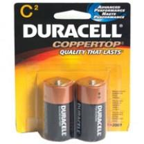 C Duracell Coppertop Batteries