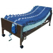 Med-Aire Alternating Pressure Air Mattress Overlay Low Air Loss System  36 x 80 x 5
