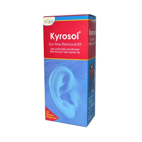 Squip Products Kyrosol Ear Wax Removal Kit