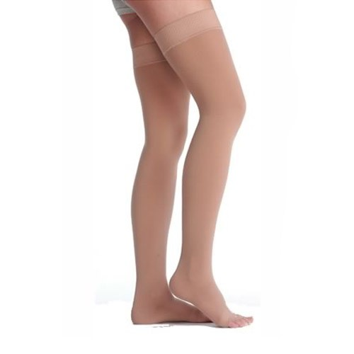 Juzo Soft 2002 Garter Style Thigh High Compression Stockings 30-40 mmHg