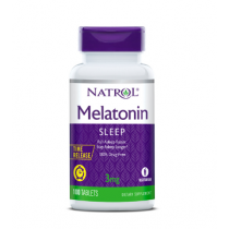 Natrol Melatonin Time Release Supplement Tablets