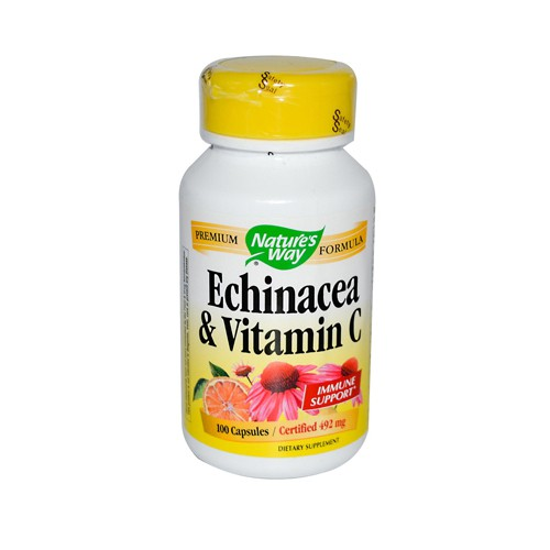 Natures Way Echinacea and Vitamin C 492 mg
