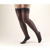TRUFORM Women's LITES Thigh High Support Stockings 8-15 mmHg