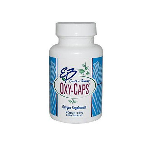 Earths Bounty Oxy Caps Oxygen Dietary Supplement