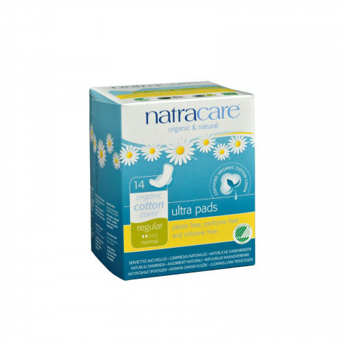 Natracare Natural Ultra Pads with Wings and Organic Cotton Cover
