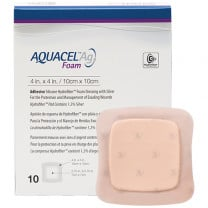 Aquacel Ag Foam Dressing Packaging