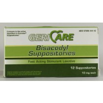 Bisacodyl Laxative Suppositories - 10mg