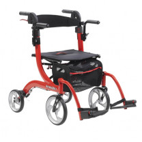 Drive Medical Nitro Duet Rollator and Transport Chair (RTl10266DT)