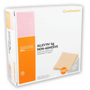 ALLEVYN Ag Non-Adhesive Absorbent Silver Barrier Dressing