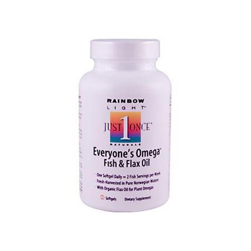 Rainbow Light Everyone's Omega Fish and Flax Oil