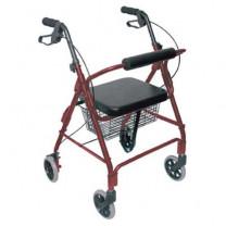 Mabis Ultra Lightweight Aluminum Rollator