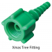 Oxygen Tubing Adapter Xmas Tree Fitting