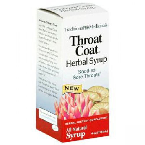 Traditional Medicinals Throat Coat Herbal Syrup