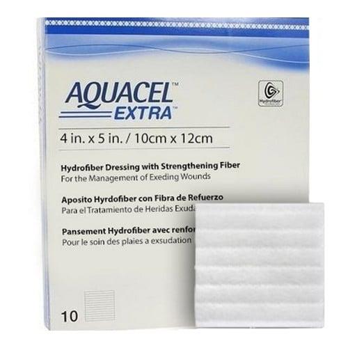 Convatec Aquacel Extra Hydrofiber Dressing with Strengthening Fiber
