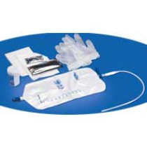 Personal TOUCHLESS Catheter with Urethral Tray
