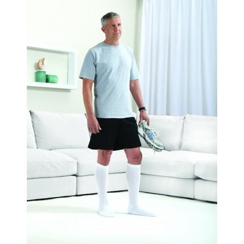 SPORTSLINE Crew Compression Socks CLOSED TOE 15-20 mmHg